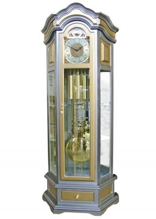 Напольные часы SARS 2092-1161 old silver & gold