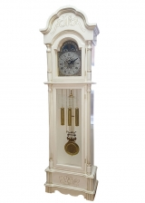 Напольные часы Columbus CL-9222M-PS Серебристая Патина